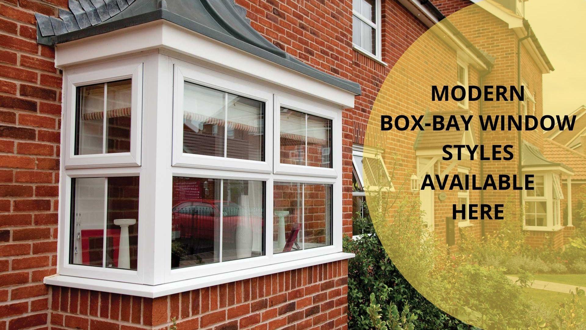 modern bay window styles