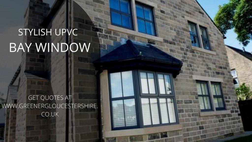 stylish upvc bay window